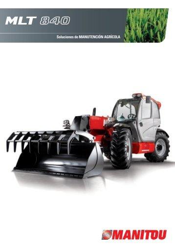 Soluciones de manutención agrícola - MLT 840 - Manitou