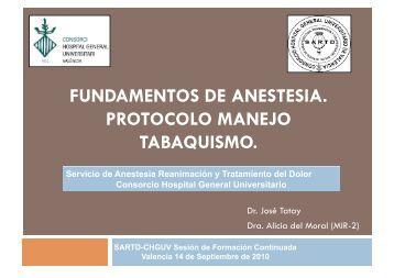 Protocolo manejo Tabaquismo - Hospital General Universitario de ...