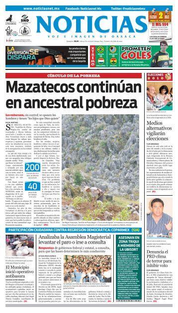 elecciones - Noticias Voz e Imagen de Oaxaca
