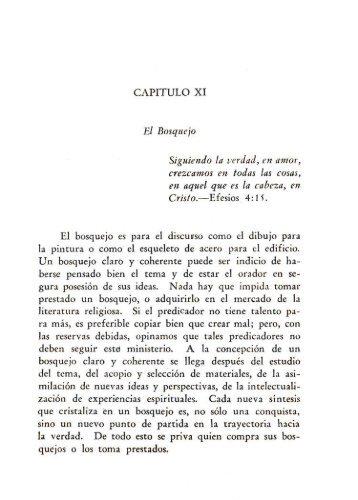 Capítulo 11: El Bosquejo y Bibliografía Selecta