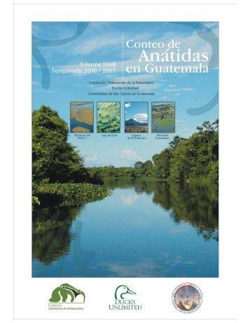 Informe Conteos Anátidas - Ducks Unlimited