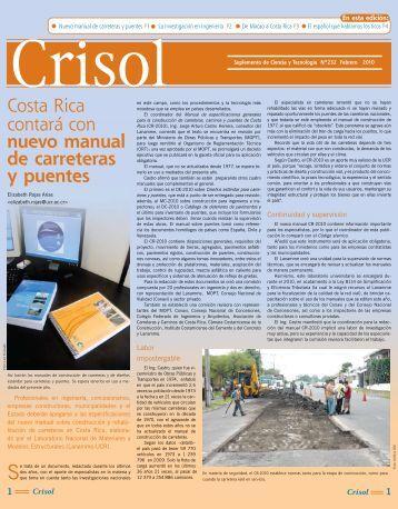 Costa Rica contará con nuevo manual de carreteras y puentes