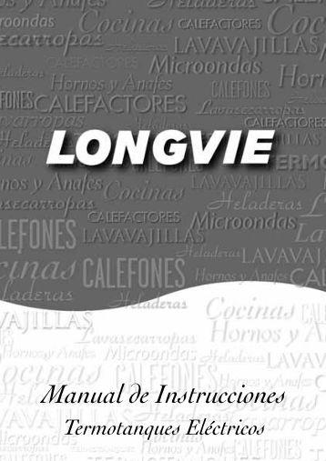 Manual de instrucciones - Longvie