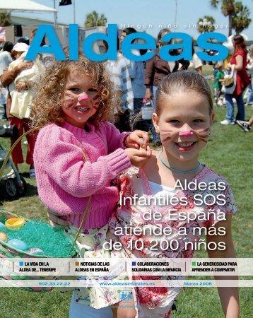Aldeas Infantiles SOS de España atiende a más de 10.200 niños