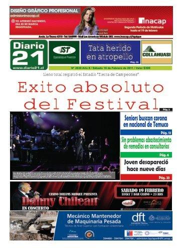 Tata herido en atropello - Diario 21
