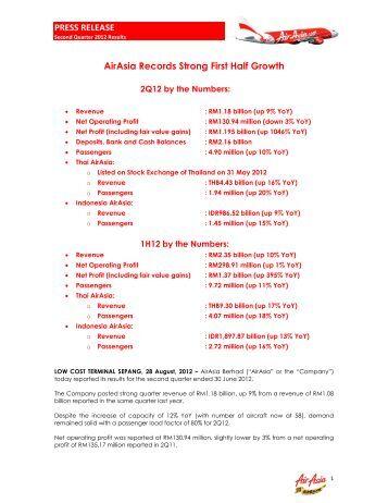 Press Release - Air Asia