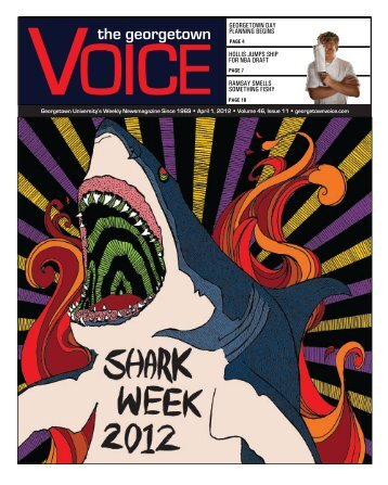 April 1 - The Georgetown Voice