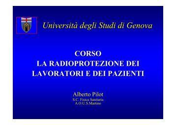 Radioprotezione (file .pdf) - Facoltà di Medicina e Chirurgia ...