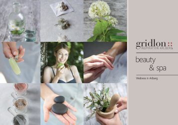 Spa Hotel Gridlon in the Alps - Wellness holiday brochure