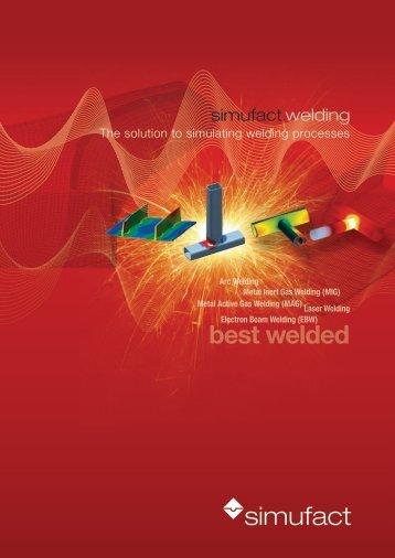 best welded - Simufact Engineering GmbH