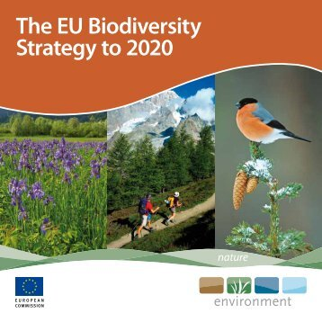 Eu biodiversity strategy to 2020 - council conclusions