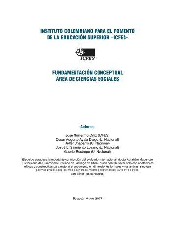 fundamentación conceptual área de ciencias sociales - Colombia ...