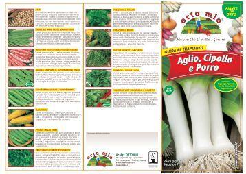 Magazines for Aglio porro