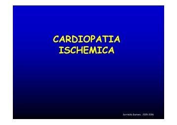 CARDIOPATIA ISCHEMICA - Facoltà di Medicina e Chirurgia