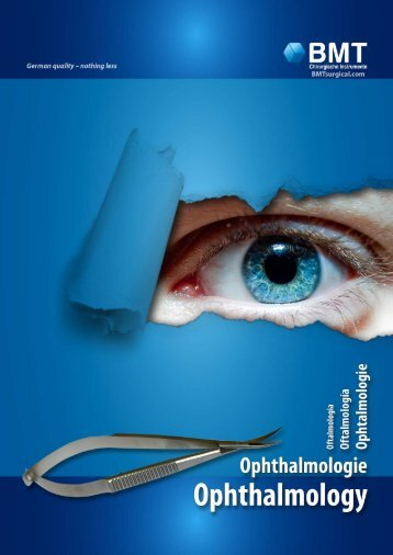 Ophthalmology - BMT Surgical Instruments