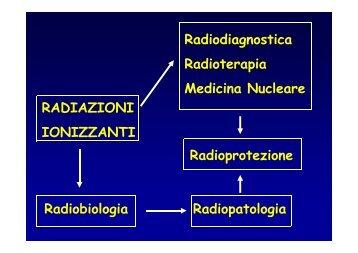 Radiobiologia - Facoltà di Medicina e Chirurgia