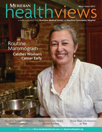 Download the May/June 2013 Issue - Bayshore Community Hospital
