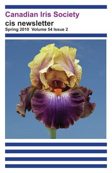 Canadian Iris Society cis newsletter - e-clipse technologies inc.
