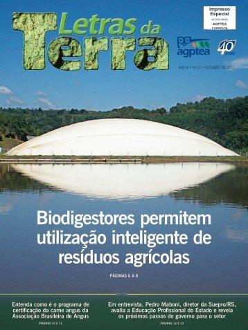 Biodigestores permitem utilização inteligente de resíduos ... - AGPTEA