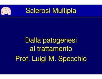Sclerosi Multipla - Facoltà di Medicina e Chirurgia