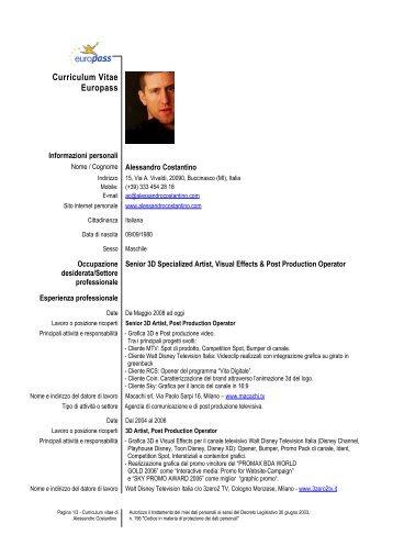 Curriculum Vitae Format Europass Limba Romana The Blouse