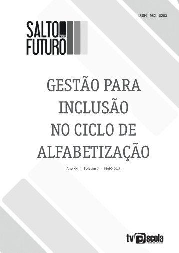 Gestão para inclusão no ciclo de alfabetização - TV Brasil