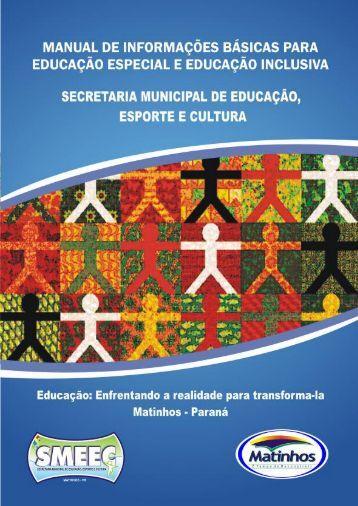secretaria municipal de educação de matinhos - Aprende Brasil