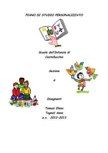 P o f pdf scuola dell 39 infanzia riva rocci almese for Piano di studio