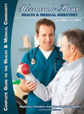 Hernando-Pasco 07 - Health & Medical Directories