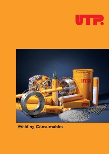Welding Consumables - UTP Schweissmaterial
