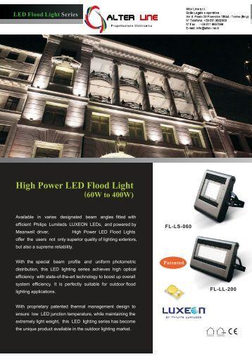 patented alter line illuminazione a led alter lighting