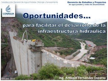 de estudios y proyectos - Conagua