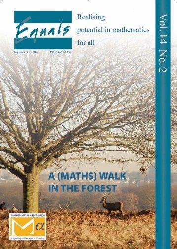 A (maths) - The Mathematical Association