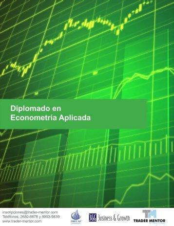 Diplomado en Econometría Aplicada