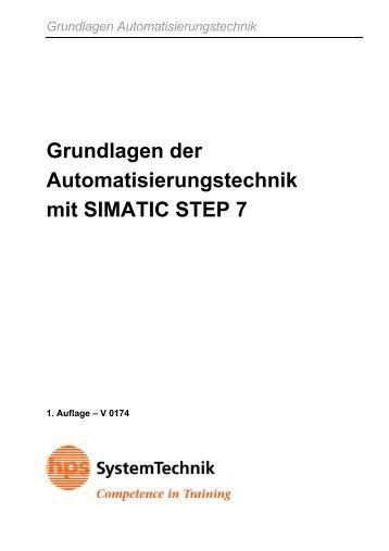 Grundlagen der Automatisierungstechnik mit SIMATIC STEP 7 - hps ...