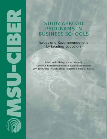 Education Abroad - MSU Engineering Study Abroad
