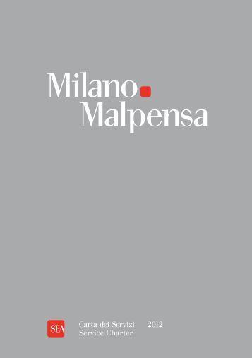 Carta dei servizi Malpensa - Sea