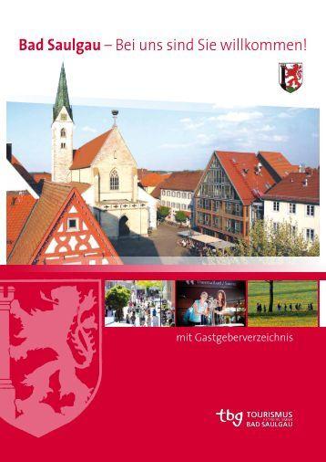 Gastgeberverzeichnis: 2012/2013 (PDF) - bei der Tbg-Bad Saulgau