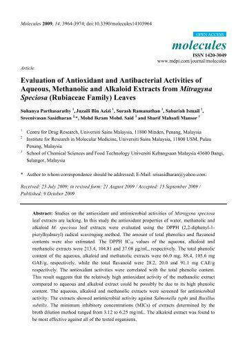 exploring of antibacterial and antifungal activity Having antifungal activity key words : antifungal the screening of plant extracts and their products for antimicrobial activity antifungal activity of the.