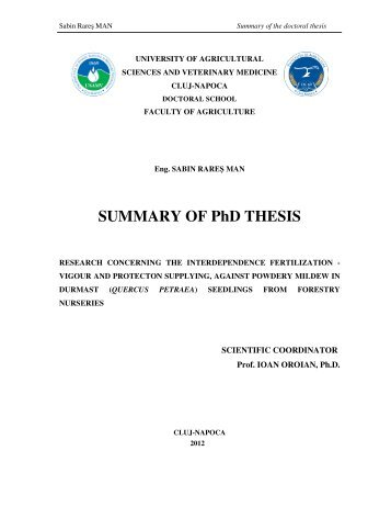 phd thesis in forestry Phd in natural resources or forestry 11/20/12 11:12 am non-thesis master master of science phd natural resources fisheries, wildlife and conservation biology.