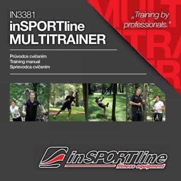 Návod k použití - Insportline