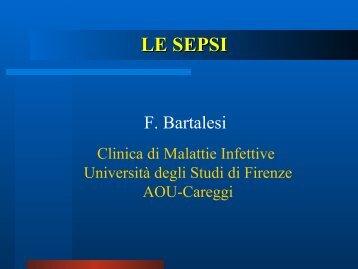 Sepsi - Medicina e Chirurgia - Università degli Studi di Firenze
