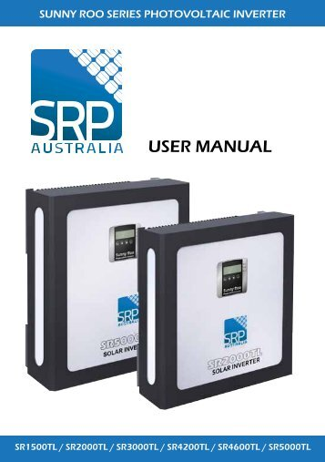 Sunny Roo Inverter User Manual here - Gold Coast Solar Power ...