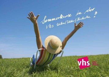 Untitled - Volkshochschule Witten-Wetter-Herdecke