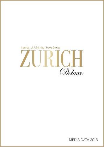 MEDIA DATA 2013 - Zurich Deluxe