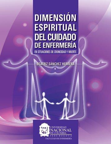 dimensión espiritual del cuidado - Universidad Nacional de Colombia