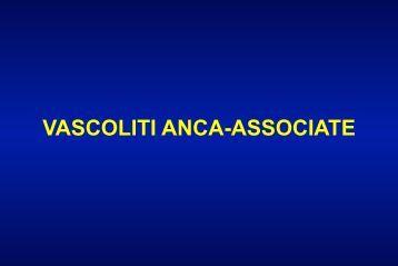 VASCOLITI ANCA-ASSOCIATE - Facoltà di Medicina e Chirurgia