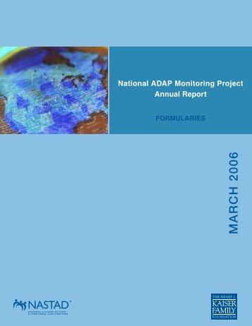 ADAP Formularies - The Henry J. Kaiser Family Foundation