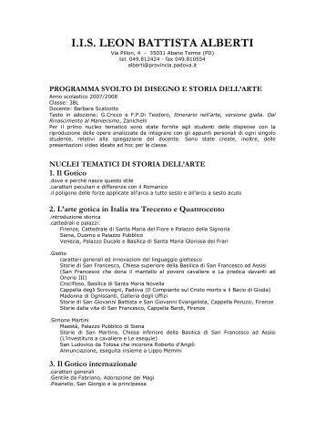 I.I.S. LEON BATTISTA ALBERTI - Lbalberti.It