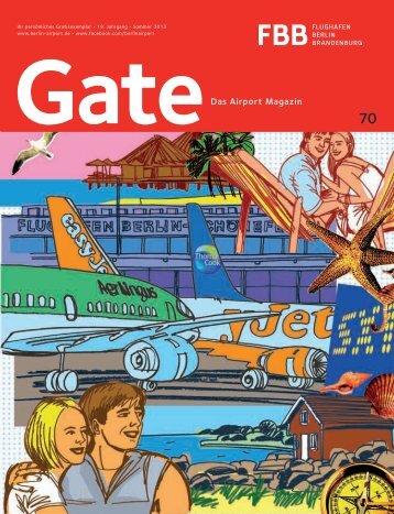 Gate 70 Sommer 2013